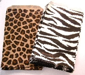 Animal Print Party Gift Bags