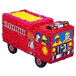 Fire Engine Party Pinata