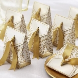 Decorative Gold Gift Boxes