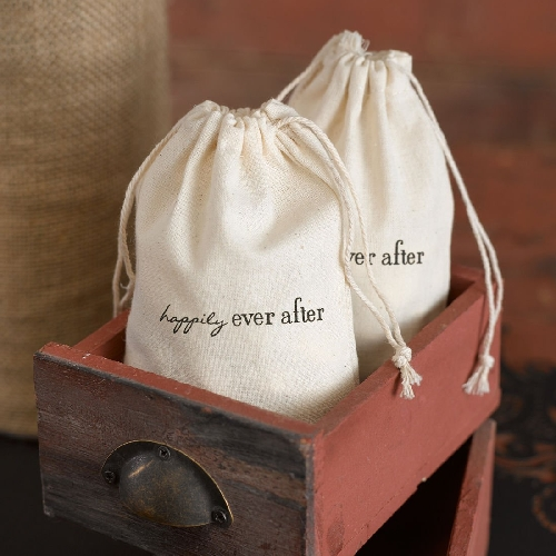 Happily Ever After Cotton Bags