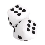 Inflatable Dice Pool Party Favors