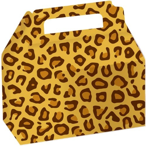 Leopard Print Cookie and Candy Boxes