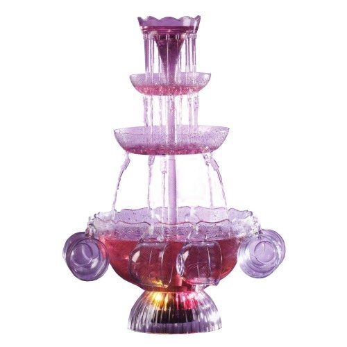 Lighted Fountain Beverage Set