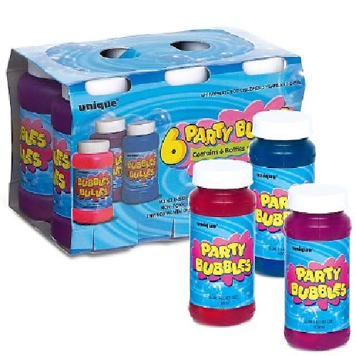 Party Bubbles Favor Pack