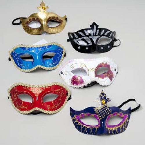 Deluxe Carnival Party Mask
