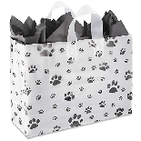 Large Paw Prints Gift Bag