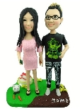 Fully Personalized Clay Figurines