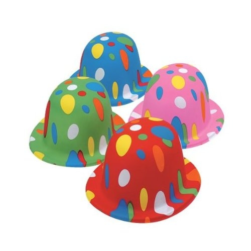 Polka Dot Derbies Party Hats