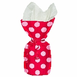 Red Polka Dot Cello Gift Bags