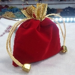 Red Velvet Gift Pouches