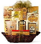 The Golden Gourmet Gift Basket