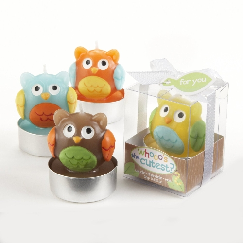Whooo's the Cutest Baby Owl Candle