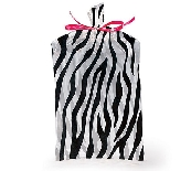 Zebra Print Cello Bag
